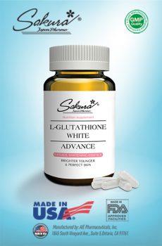 Sản phẩm Sakura L-Glutathione White Advance