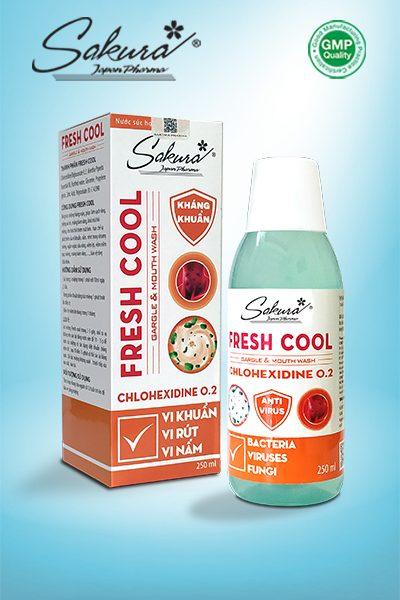 Nước súc miệng Sakura Fresh Cool