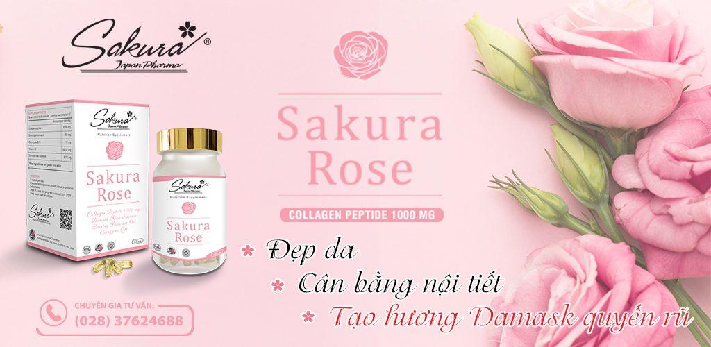 Sakura Rose banner