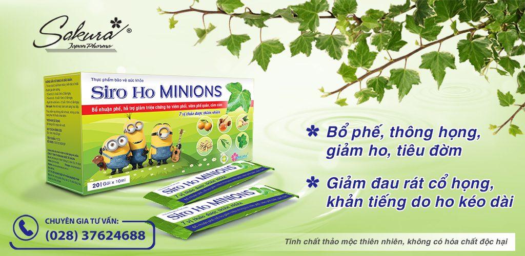 Sakura Siro Ho Minions - Banner