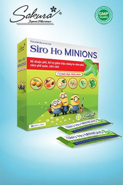 Hình SP Sakura Siro Ho Minions (Gói)