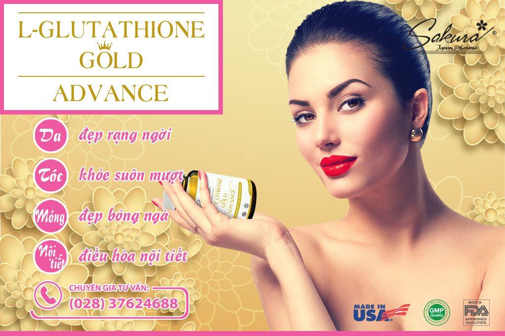 Sakura L-Glutathione - Bí quyết chăm sóc sắc đẹp toàn diện cho phái nữ