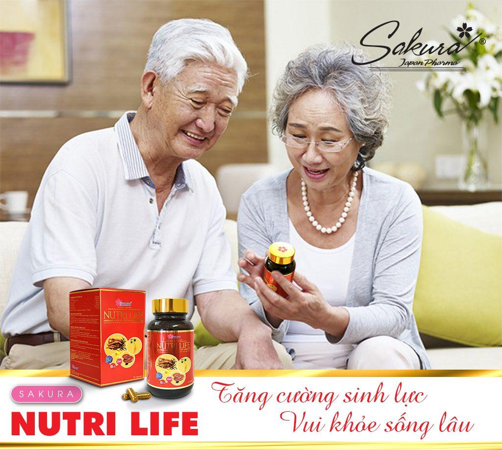Tăng cường sinh lực - Vui khỏe sống lâu với Sakura Nutri Life