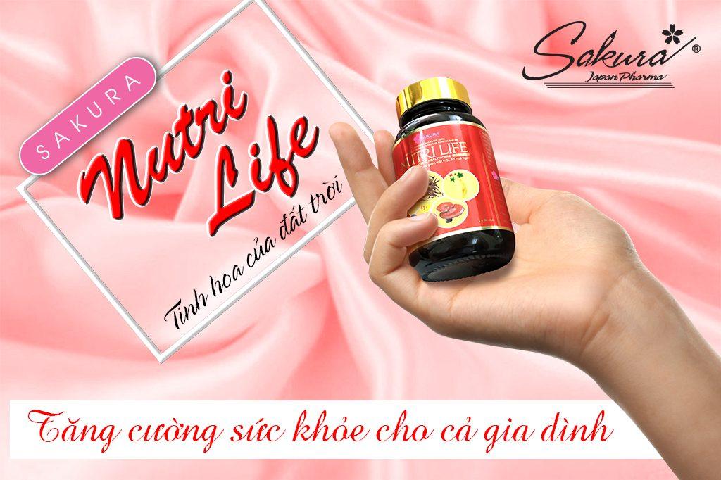 Sakura Nutri Life - Tăng cường sức khỏe cả gia đình