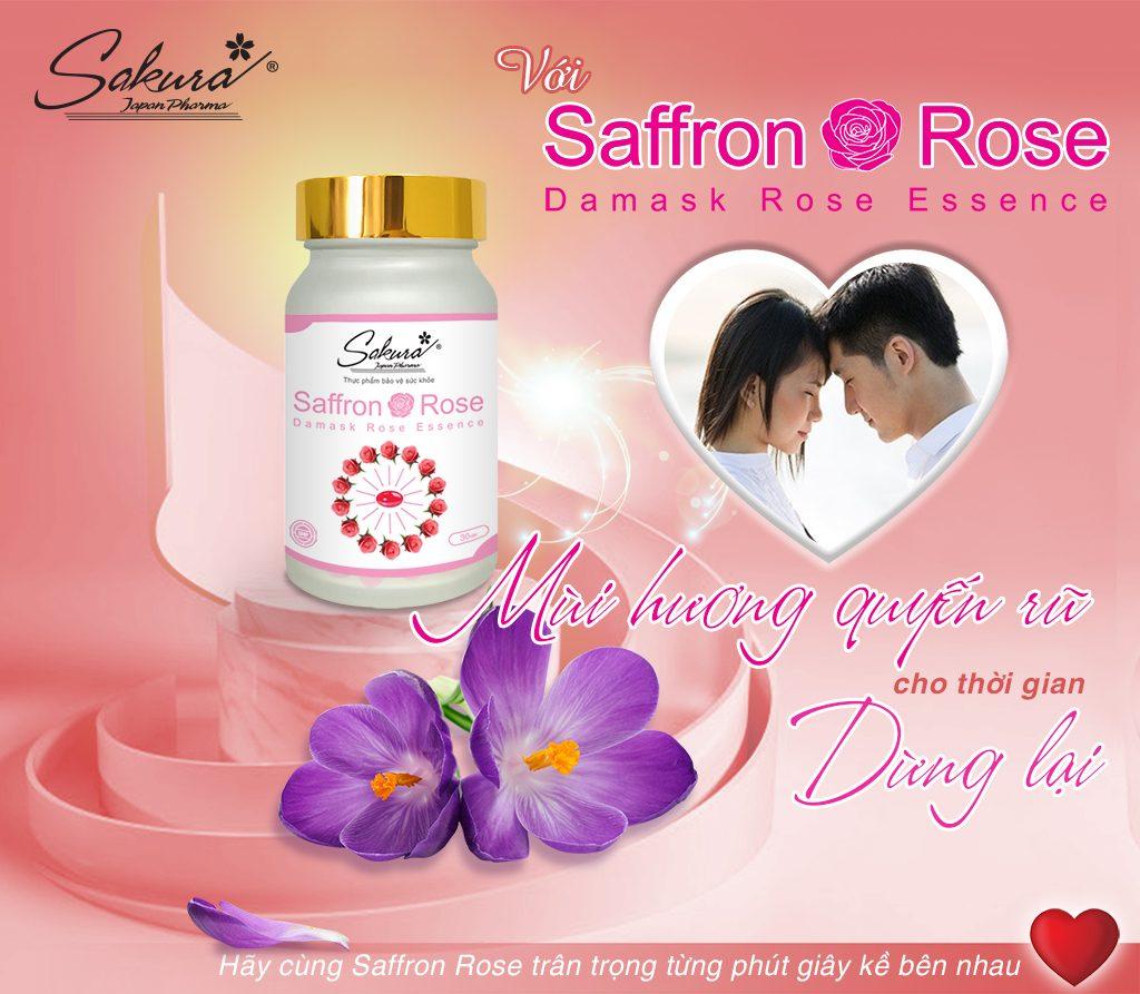 Ấn tượng trong lần gặp gỡ đầu tiên đến từ Saffron Rose