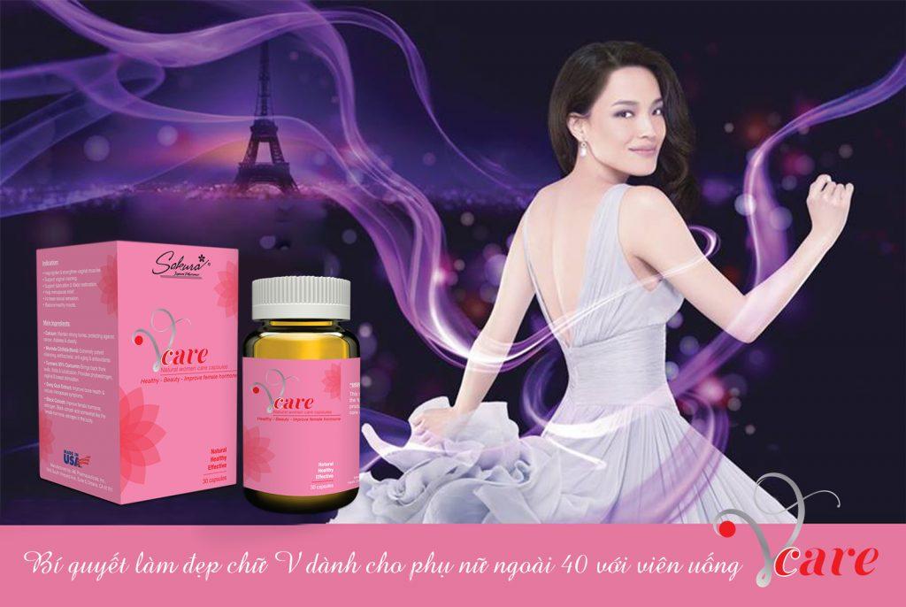 Sakura VCare - Bí quyết làm đẹp cho phụ nữ U40