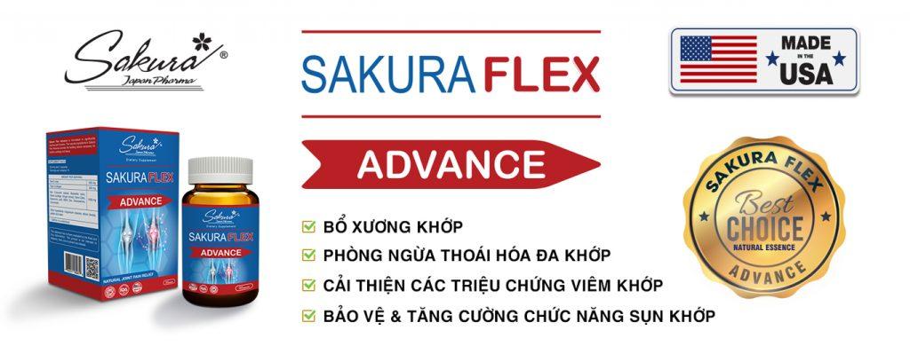 "Sakura Flex - ""Best choice"" cho sụn khớp"