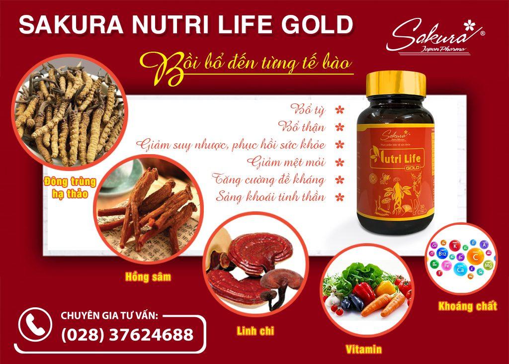 Sakura Nutri Life Gold - Bồi bổ đến từng tế bào