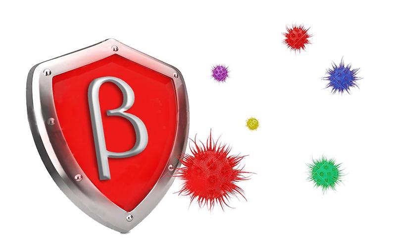 Beta glucan - Anti virus