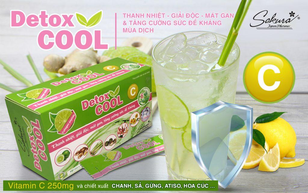 Tăng cường đề kháng mùa dịch với Sakura Detox Cool