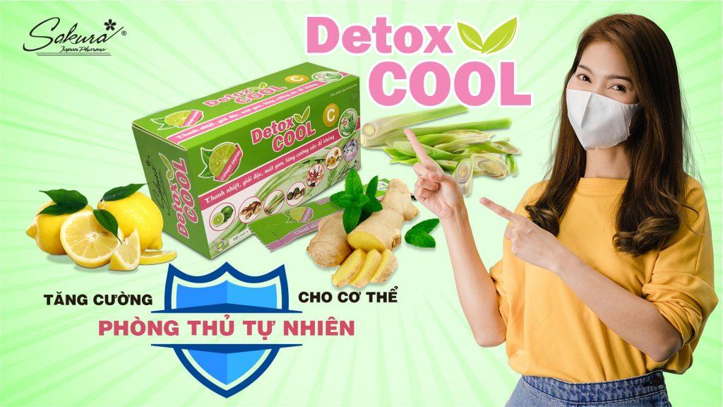 Tăng cường sức đề kháng tự nhiên cho cơ thể với Sakura Detox Cool